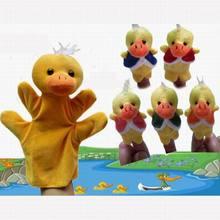 The variety Optional Baby Kids Educational toy Finger Puppet plush Soft toys boy girl World Nursery Rhyme(China)
