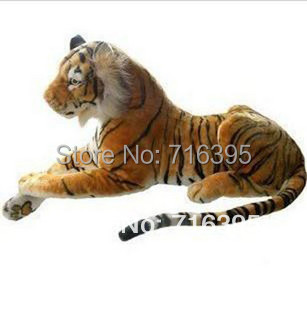 Free shipping 2014 Plush toy cloth doll artificial tiger south china tiger plush toy tiger Ultra-realistic simulation Tiger 819(China (Mainland))
