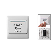 Buy AYHF-New White Electronic Door Exit Push Strike Button Panel+2 Mounting Screws for $1.20 in AliExpress store