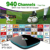 1 Year Free 940+ HD Live Channels Watch French Arabic IPTV Box Quad Core S905X 2G/16G  Kodi Inside Sports Canal Sky IT DE UK