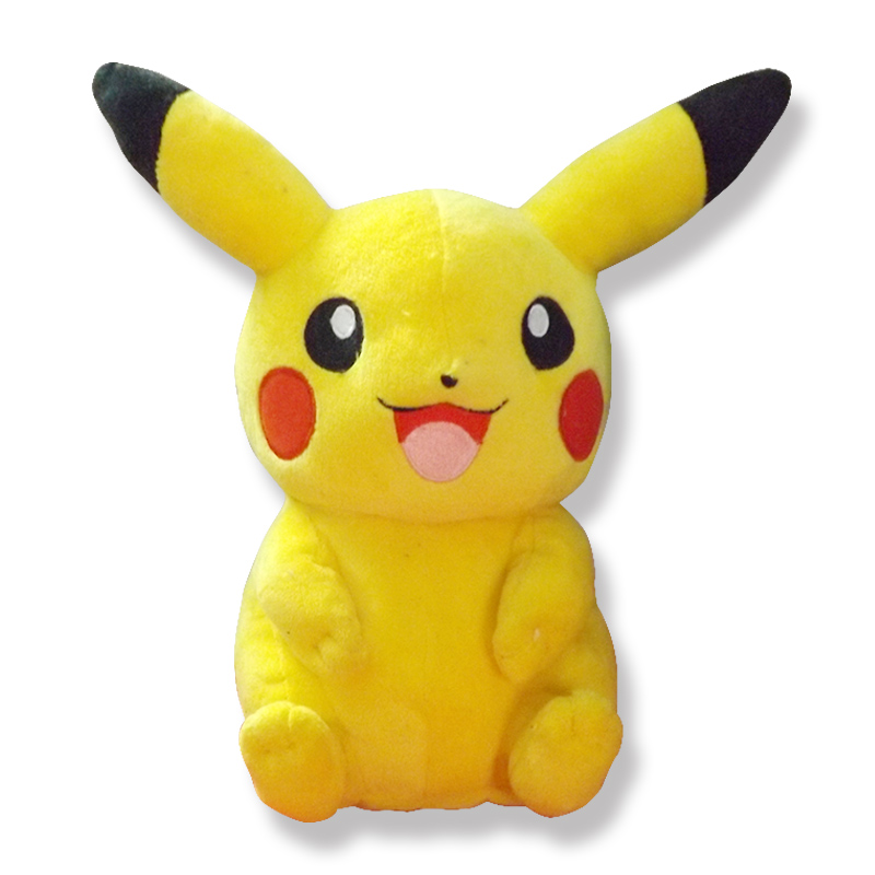 22cm Pikachu Plush Toys High Quality Cute Pokemon Plush Toys Children's Gift Toy Kids Cartoon Peluche Pokemon Pikachu Plush Doll(China (Mainland))