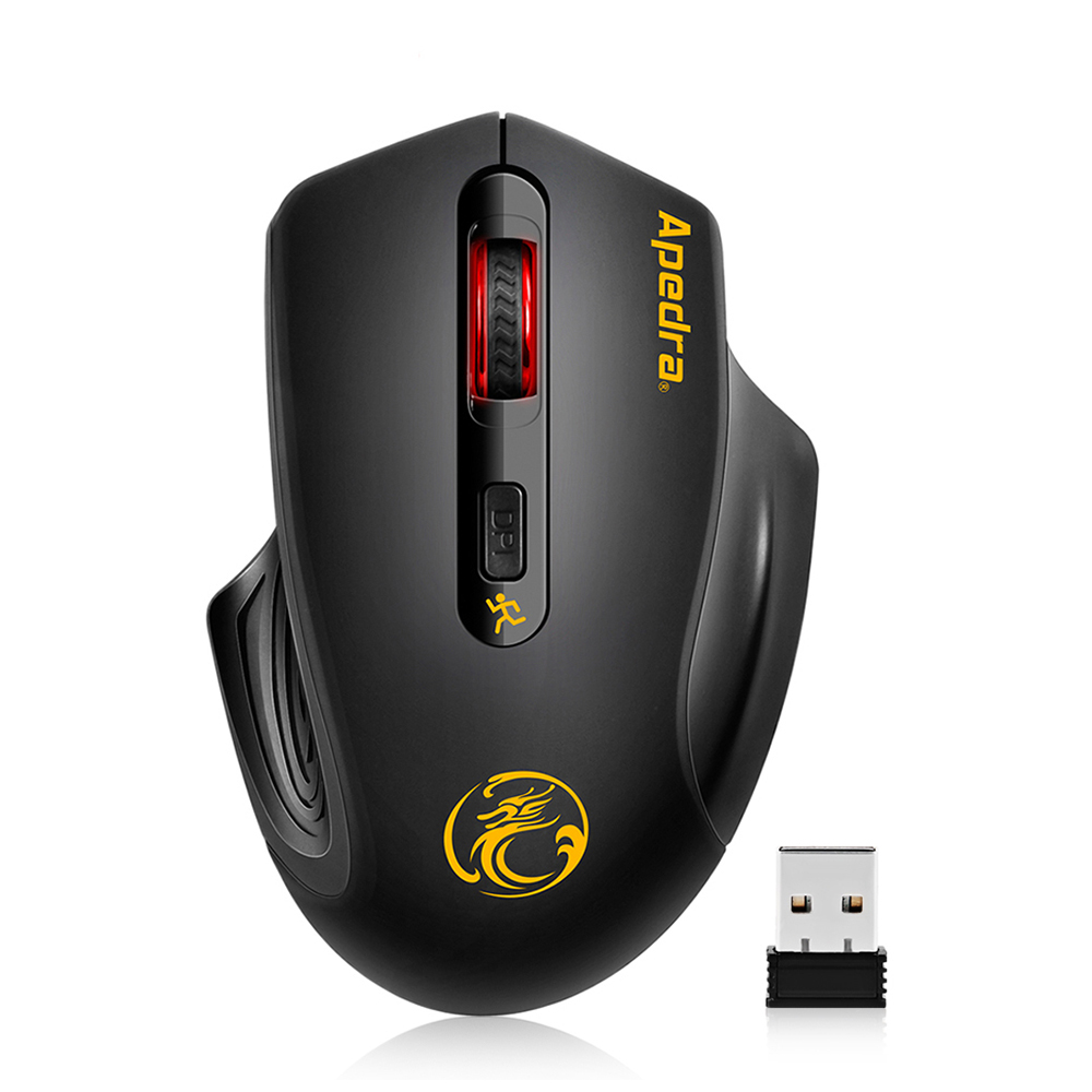 New 2.4GHz Wireless Mouse 2000DPI USB 3.0 Optical Fashion Computer Mouse USB Receiver Gaming Mice Ergonomic Design For PC Laptop(China (Mainland))