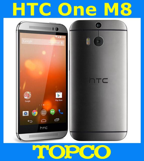 """HTC One M8 32 ГБ Оригинальный Разблокирована GSM 3 Г и 4 Г Android четырехъядерный процессор ОЗУ 2 ГБ мобильный Телефон 5.0 """"WIFI GPS 4MP 3 камеры dropshipping"""