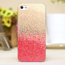 GOLD CORAL Design Customized transparent case cover cell mobile phone cases for Apple iphone 6 6plus hard shell