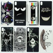 Case For Sony Xperia Z2 D6503 D6502 L50W Transparent Coloured Drawing Phone Cover For Sony Z2 Plastic Hard Phone Cases