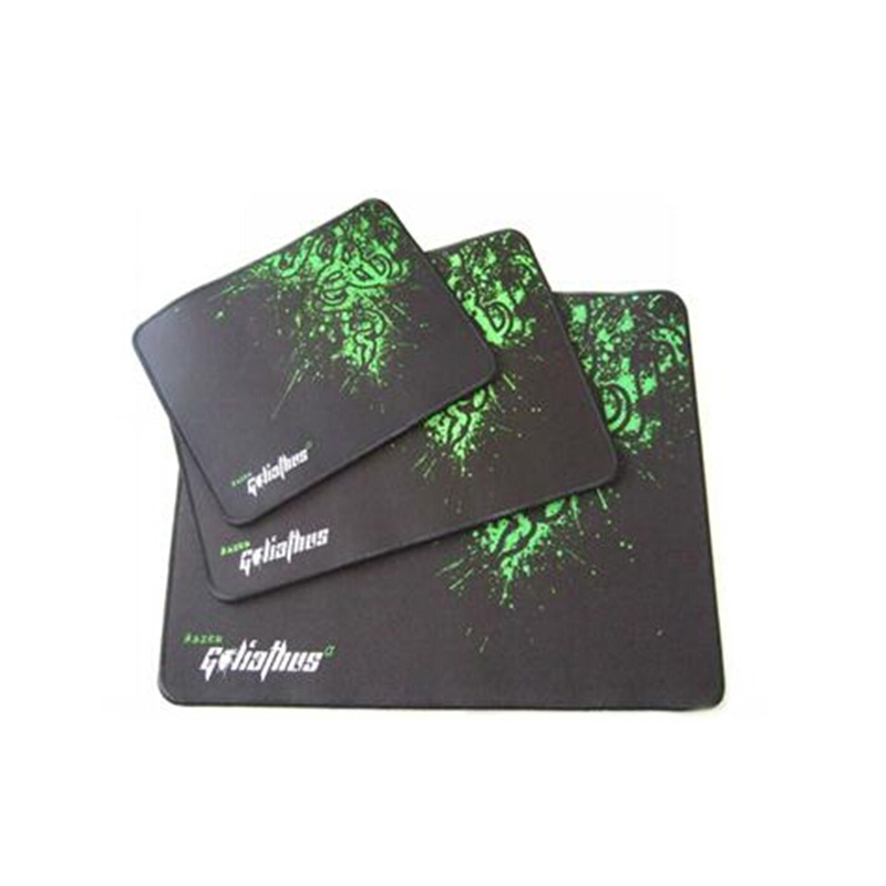 Hot sale!!!Razer mouse pad Size 320mm*245mm*4mm Professional game mouse pad speed control vesion for optional(China (Mainland))