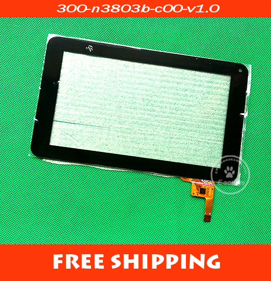 Free shipping , 100% New Venus S6600 touch screen ,Tablet PC touch panel digitizer 300-N3803B-B00-V1.0 7 inch touch screen(China (Mainland))