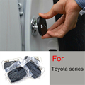 4pcs set Car Door lock decoration cover Door lock protective cover Door rust proof lock cover