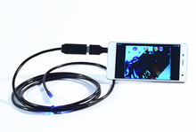 7mm 1,300,000 Pixels HD USB Endoscope Camera For Android Mobile 2m
