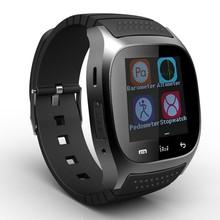 Водонепроницаемый Smartwatch M26 bluetooth-смарт часы с из светодиодов Alitmeter музыкальный плеер usb-шагомер для Apple , IOS Android смартфон T45