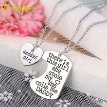 Buy Diomedes 3PC Charm Women 2PC Family Charm Gifts Heart Love Hot Necklace pendant Daughter Dad Mother Choker Bracelet #0303 for $1.49 in AliExpress store