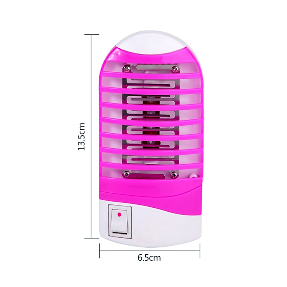 Electronic Mosquito Killer Lamp LED Mini Sensor Night Light 110V- 240v Range Pest Bug Reject Mole Repeller Night Lamp Zapper