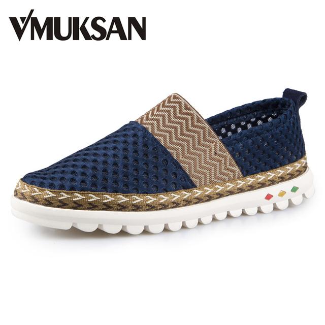 Большой размер 38 - 46 новый 2016 лето мужская обувь сетка дышащие мокасины сандалии ...