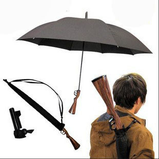 Personalized long-handled rifle umbrella super large anti-uv automatic umbrella knife umbrella male(China (Mainland))