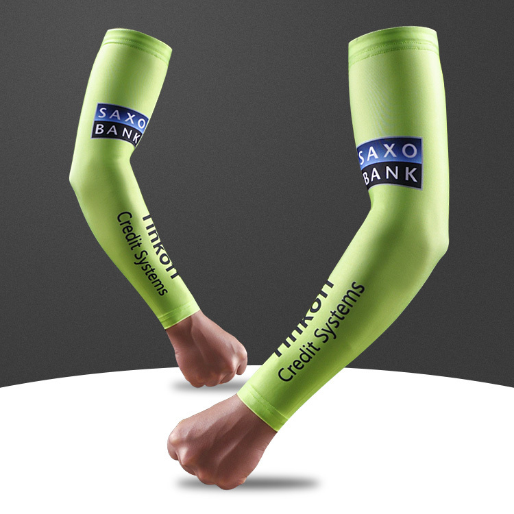 Free Shipping 2015 News Bike Team Cycling Arm Warmers Cycling Accessory Bicycle Arm Sleeves(China (Mainland))