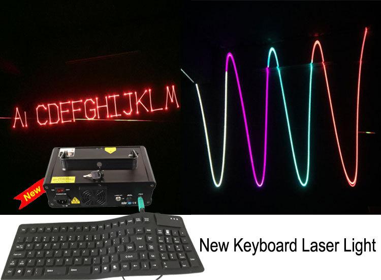 Free Shipping Italy plug Keyboard Laser Light(China (Mainland))