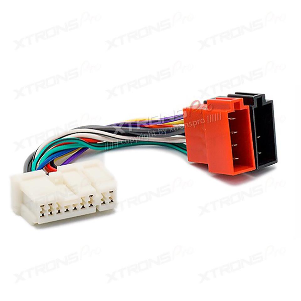 Car Radio Stereo Iso Wiring Harness Adapter For Nissan 2007 Subaru Connectors Connector Almera Premiera Micra Terrano Vanette X Trail