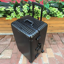 """Buy Oversized 26""""30 Inch Aluminum frame luggage suitcase Multi Wheel carry-on cabin travel trolley case rolling luggage Bag wheels for $163.98 in AliExpress store"""