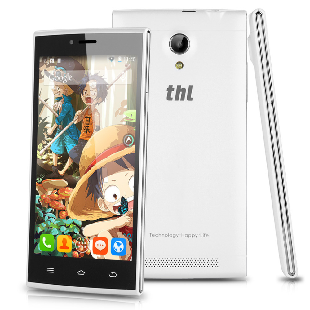 "THL T6S 5.0"" IPS 1280*720 1.3GHz MTK6582M Quad Core 2G/3G Android 4.4 1GB RAM 8GB ROM GPS OTA 5.0MP Ultrathin Smartphone(China (Mainland))"