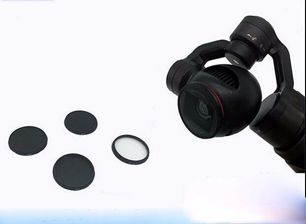 DJI Inspire 1 DJI OSMO X3 Camera filter MCUV filter /ND4 /ND8 /ND16/ CPL FPV Camera accessories
