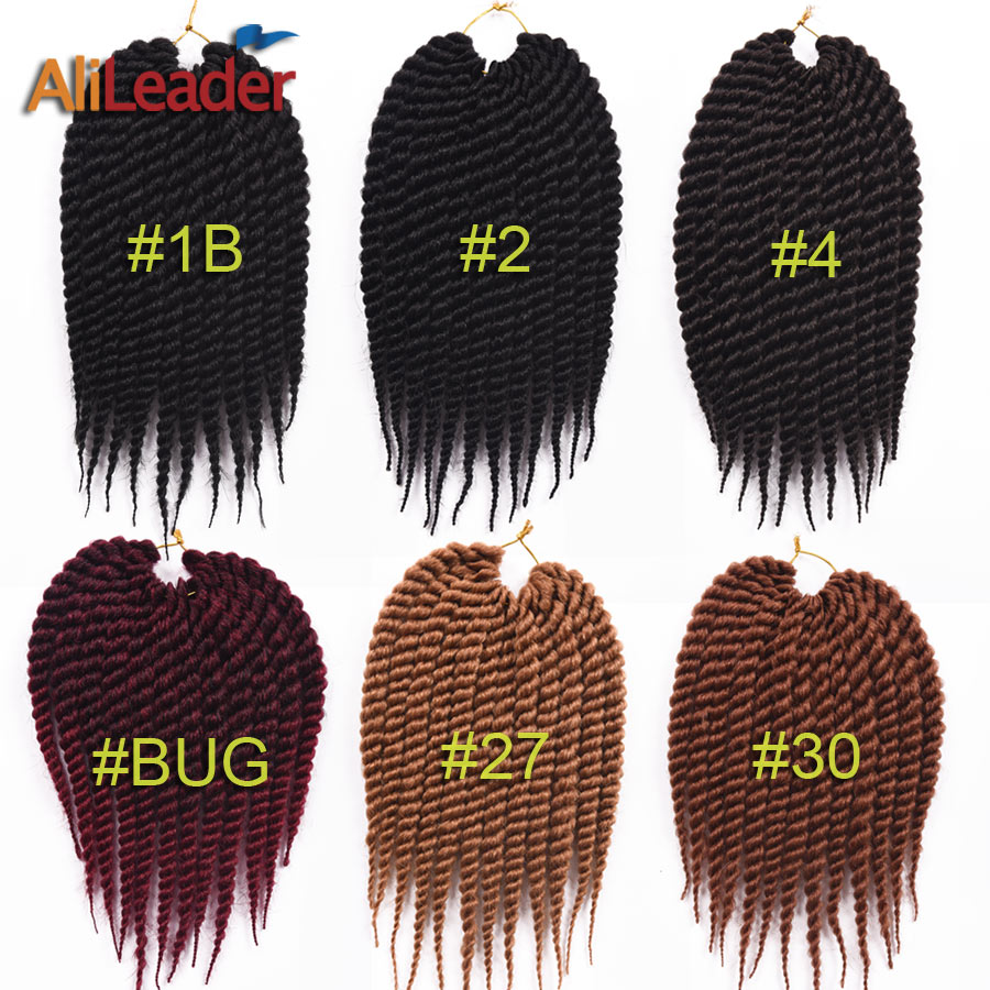 """Hot 12"""" Havana Mambo Twist Crochet Braid Hair Quality Havana Twist Crochet Hair Senegalese Twist Hair Crochet Braids Hairstyles(China (Mainland))"""