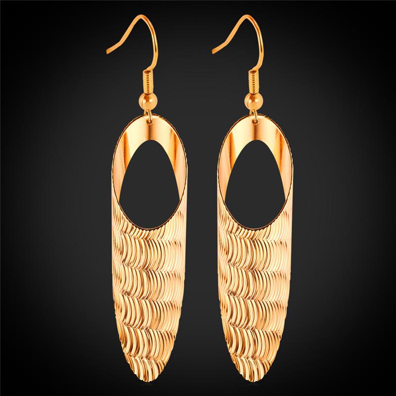 Buy Long Dangle Earrings Unique Design Fashion Jewelry Style 2015 Drop Earrings