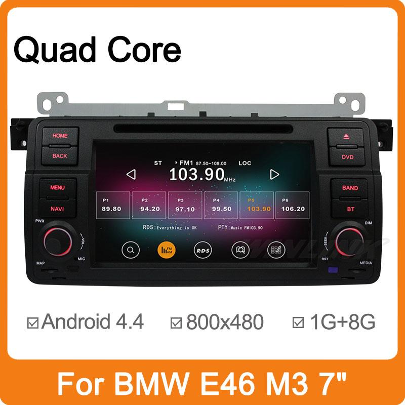 2015 Newest Android 4.4.2 Quad Core Car DVD Player For BMW E46 M3 3 Series MG ZT Rover 75 GPS Navigator Radio Central Multimedia(China (Mainland))