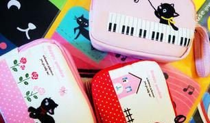 Free Shipping/Cute cartoon cats small Portable Wallet/key holder/coin bag/small Purses/Fashion Style/Gift/Wholesale