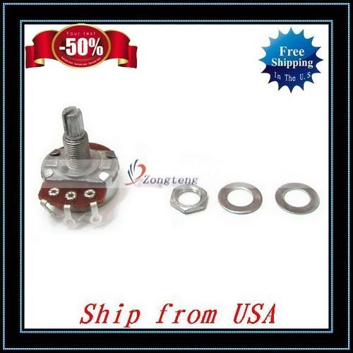 Free Shipping + Wholesale 10pcs/lot A254 Mini Electric Guitar Control Potentiometer Ship from USA-Y1022A