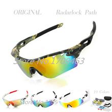 Новый мужчины поляризованных солнцезащитных очков марки оригинальный спорт кроссовки ок качество в Bycic рыбалка велоспорт солнцезащитные очки Gafas RadarL óculos
