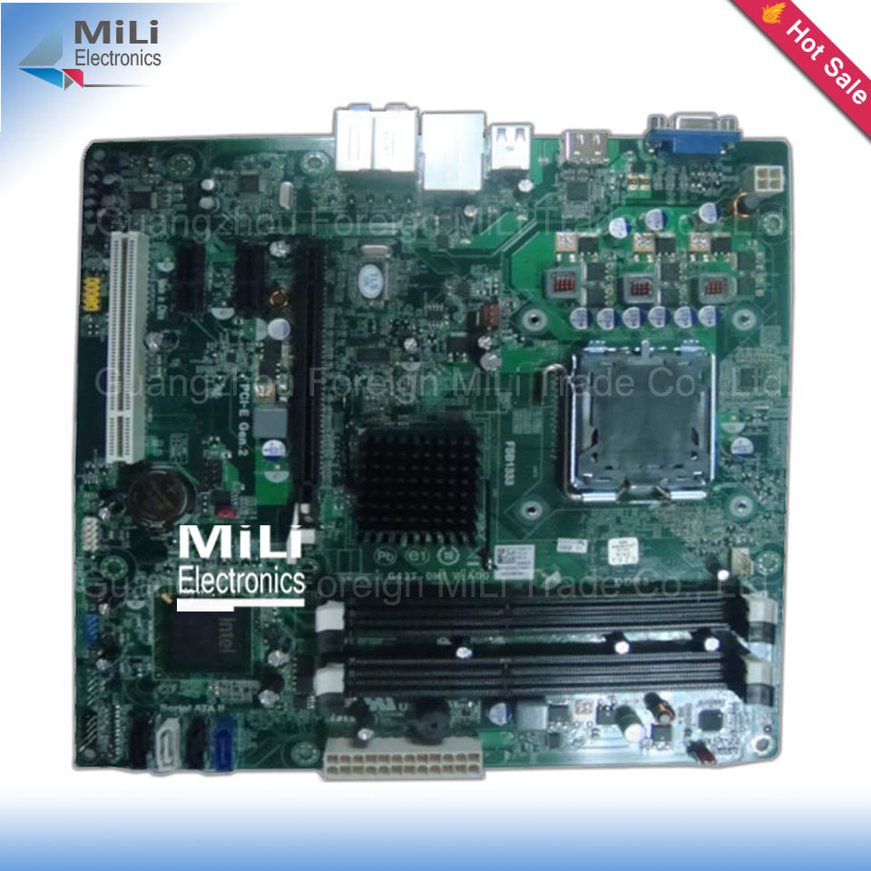 For Dell Inspiron 560 System Original Used Desktop Motherboard G43T-DM1 G43 LGA 775 DDR3 PN: 18D1Y<br><br>Aliexpress