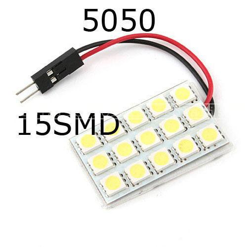 Источник света для авто Vooloov 2 /15 SMD 5050 3 источник света для авто 10pcs lot g4 9 smd 5050 12v