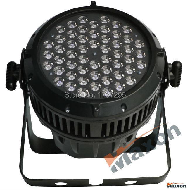 Maxon MLP-543A 8pcs/lot RGBW mixing color par light dmx IP65 outdoor led stage lighting professional party equipment par lights(China (Mainland))