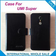 Горячая! 2017 UMI Case Супер Телефон, 6 Цветов Кожи Высокого Качества Эксклюзивные Case Для UMI Супер Крышка Телефона Мешок Отслеживания(China (Mainland))