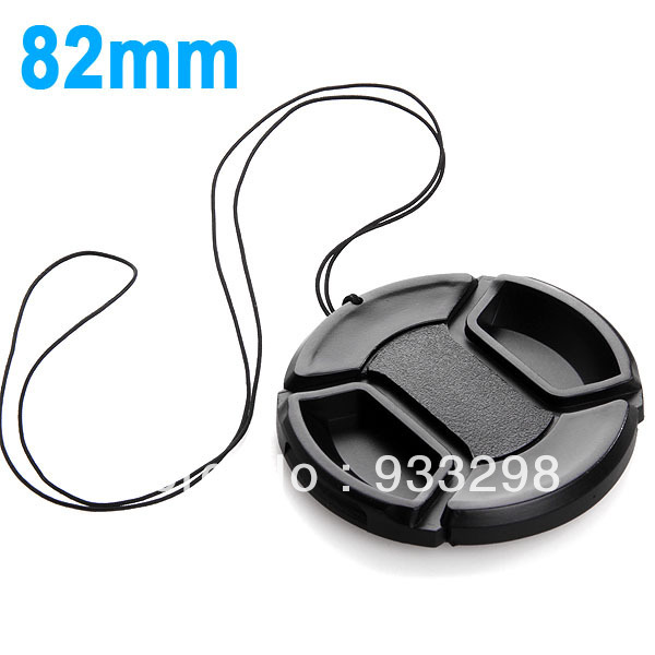 82 mm Letters Lens Cap Protection Cover 82mm Anti-lost Rope canon nikon pentax sony camera lens - Hot Digital store