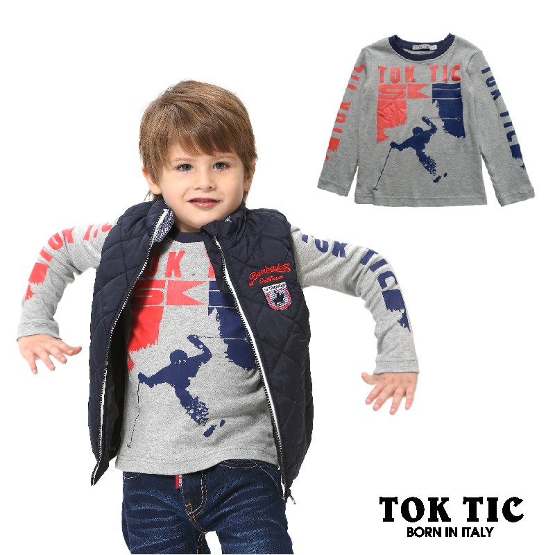 Гаджет  TOK TIC Brand spring/autumn children boy long sleeve cotton t shirt children tees&tops kids clothing two colors fits 3T-12T None Детские товары