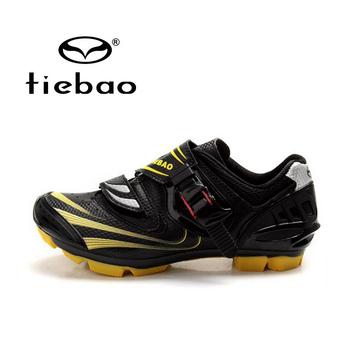 TIEBAO Профессиональные Велосипедов Велоспорт Самоконтрящаяся Обувь Мужчины Женщины Дышащие MTB Горный Велосипед Обучение Гонки Спортсмен Обувь