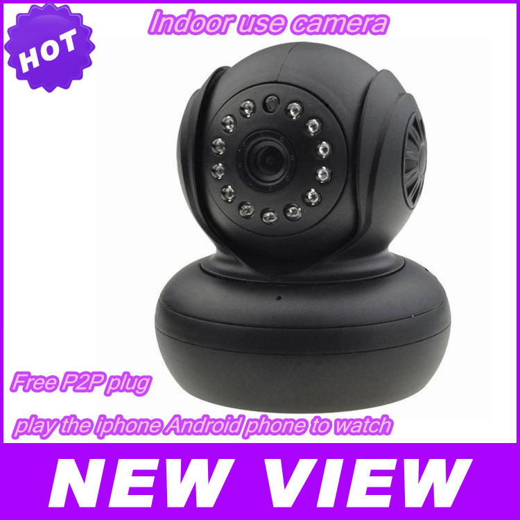 Hot sale ip camera WiFi WPA Network Webcam new cheapest p2p wireless JW0004 camara IP Internet for home security Surveillance()