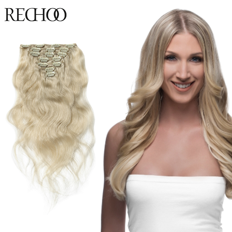 Remy Clip On Hair Extensions 3
