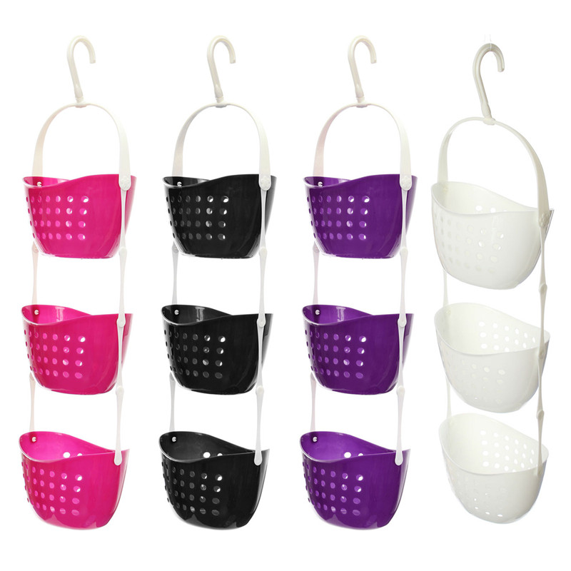 Eckregal Dusche Kunststoff : 3 Tier Hanging Shower Caddy