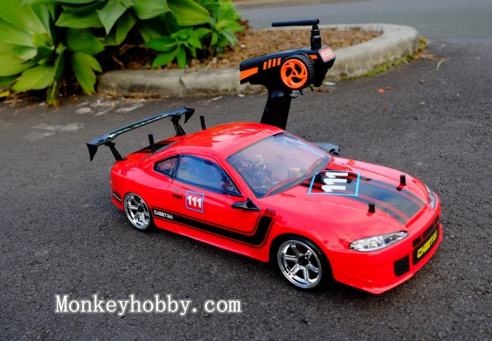 BSD BS208T RC Pro Drift car 1/10, Carbon Fiber chassic / Brushless motor, ESC with LED light version RTR(China (Mainland))