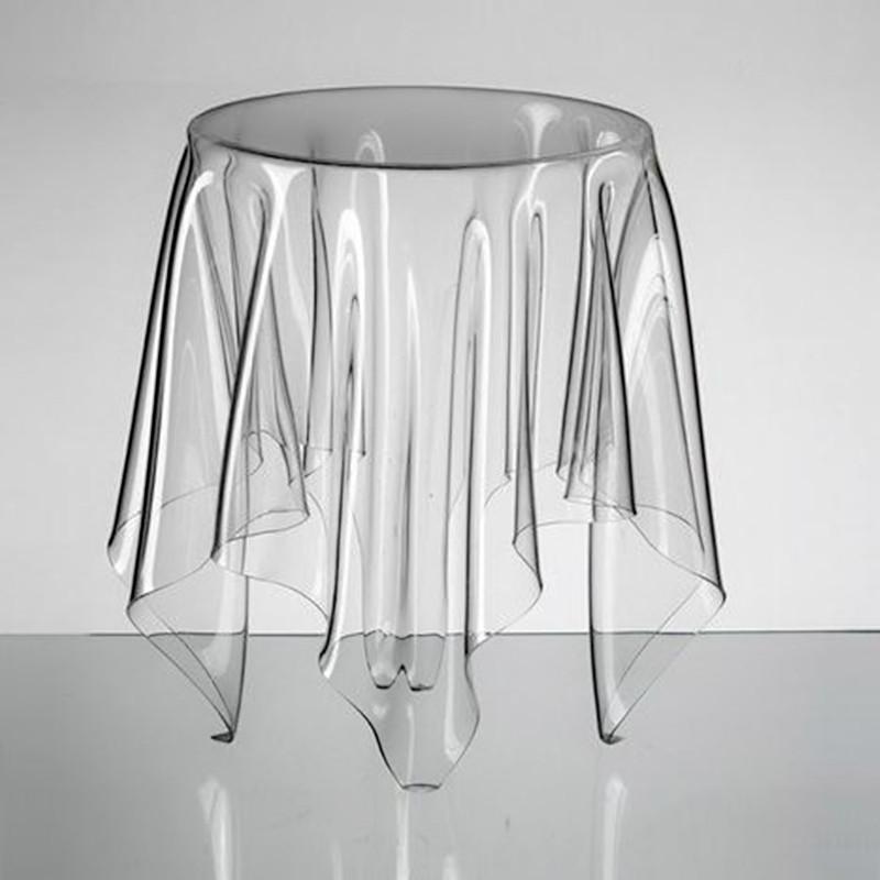 Yakeli the latest popular coffee table. New living room furniture.Transparent drape coffee table.(China (Mainland))