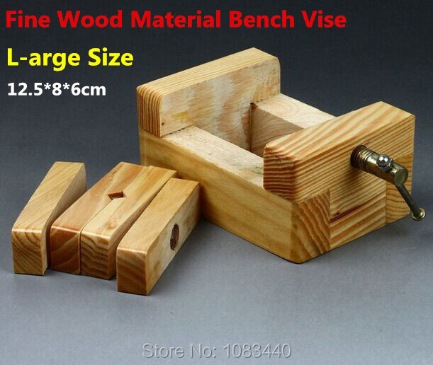 L-size Normal wood Fine Quality Metal Rod Wood working Tools mini Table Bench Vise for wood working Stone Wood Clamp-on Tools(China (Mainland))