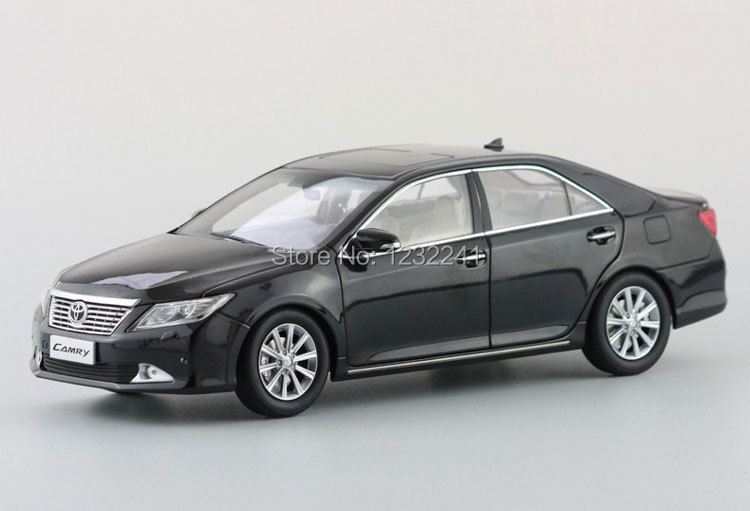 Free Shipping diecast model Dealer 1:18 Scale High quality Car Mode Toyota NEW CAMRY 2012(Black) Toys Gift for Children(China (Mainland))