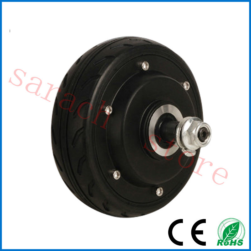 "36V 250W 5"" electric brake electric wheel hub motor,brushless hub motor,electric bike hub motor(China (Mainland))"