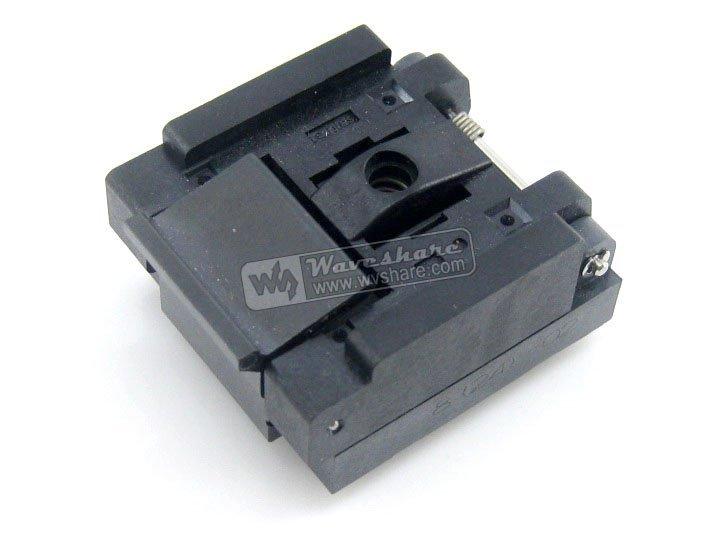 QFN8 MLP8 MLF8 QFN-8(24)B-0.5-02 Enplas IC Test Socket Programming Adapter 0.5mm Pitch<br><br>Aliexpress