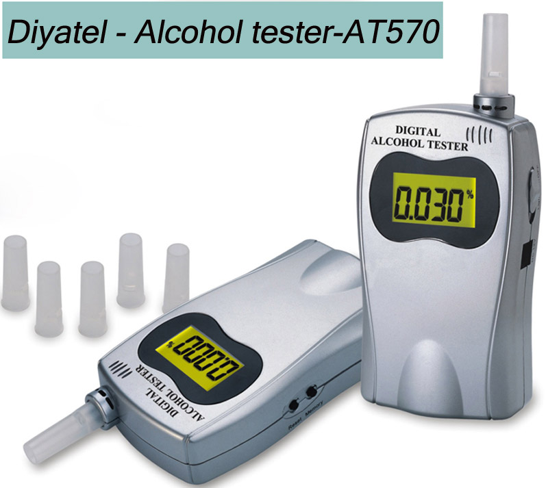 /alcohol tester free shipping colors Mouthpiece Breath Alcohol Tester/tester your blood whenever(China (Mainland))