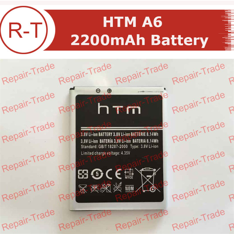 HTM A6 Battery High Capacity Original EB595678LU 2200mAh Li ion Battery Replacement for HTM A6 Smart
