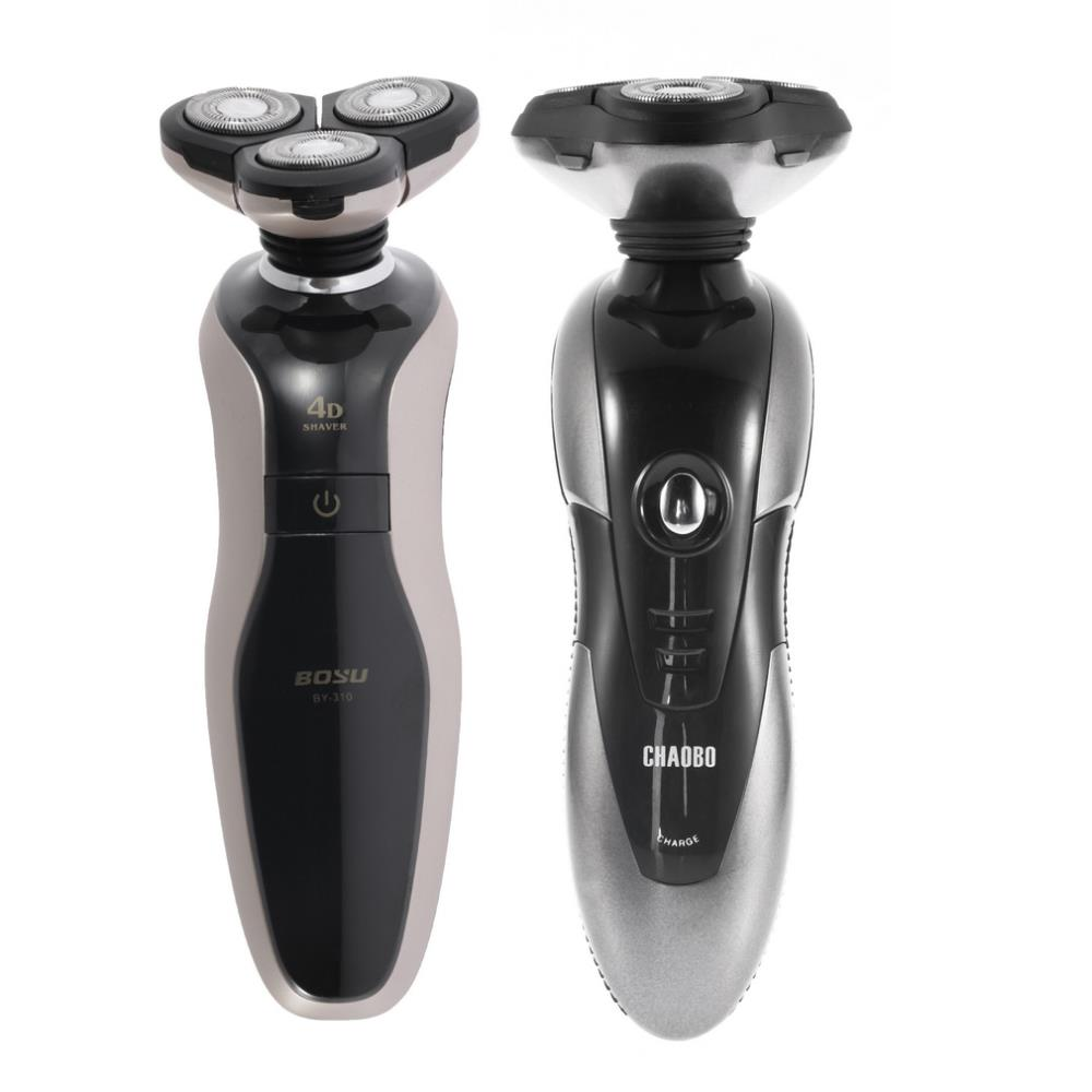 FreeShipping1set Washable Waterproof Men's Rechargeable 3D Rotary Electric Shaver Hair Razor trimmer,men's shaving &hair removal(China (Mainland))