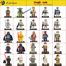 Minifigures For Individually Sale Marvel DC Super Heroes Avengers Star Wars Building Blocks Sets Model Brick Toy Lego Compatible